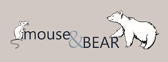 mouse and bear logo